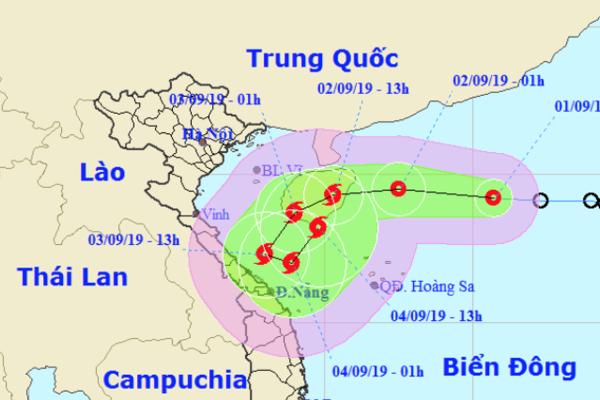 Áp thấp nhiệt đới đi vào Biển Đông, nhiều khả năng mạnh lên thành bão số 5
