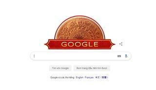 Google Doodles hôm nay 2/9: Mặt trống đồng chào mừng Quốc Khánh 2/9