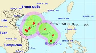 Tin mới nhất về 2 áp thấp nhiệt đới cùng hoành hành trên Biển Đông