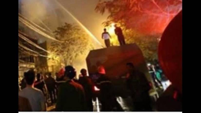 Cháy quán karaoke ở Bắc Ninh, một thợ chỉnh sửa âm thanh tử vong