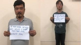 Tạm giữ hai cha con liên quan đến vụ chém lìa tay người bán nước