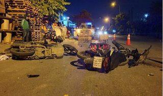 Tin tức TNGT ngày 3/9/2019: 3 xe máy tông nhau, 5 người đàn ông nguy kịch