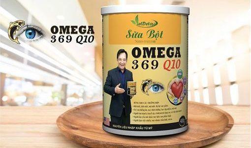 Cần làm rõ nguồn gốc nguyên liệu của sữa Nano enzym Omega 369 Q10