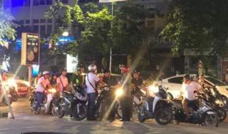 Hàng chục 'quái xế học sinh' tổ chức đua xe gây náo loạn đường