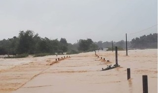 Thủy điện Hố Hô xả lũ khiến nhiều vùng hạ du ngập trong biển nước