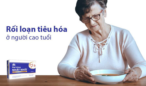 rối loạn tiêu hóa ở người lớn tuổi