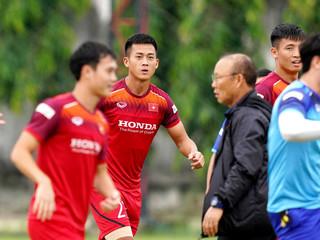Lộ diện cái tên cuối cùng bị HLV Park loại khỏi danh sách đối đầu Thái Lan