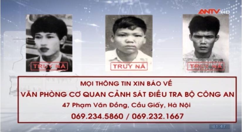 Công an tỉnh Nam Định liên tiếp thông báo truy nã các đối tượng nguy hiểm