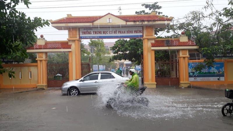 Quảng Trị: 173 trường học không thể khai giảng vì mưa lũ