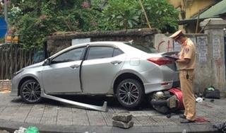 Tin tức TNGT ngày 5/9/2019: Nữ tài xế lùi xe tông 2 người trọng thương