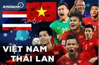 Trận 'đại chiến' Thái Lan - Việt Nam được phát trên kênh nào?