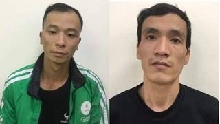 Mặc áo xe ôm Grab, hai thanh niên bất hảo thực hiện nhiều vụ trộm cắp