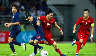 Ngỡ ngàng với những thông số ấn tượng về Tuấn Anh trận gặp Thái Lan