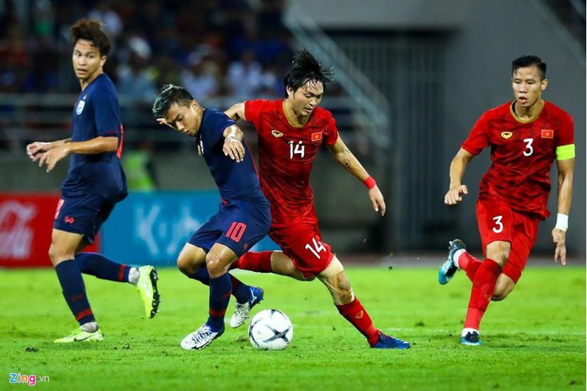 Những thông số ấn tượng về Tuấn Anh trận gặp Thái Lan