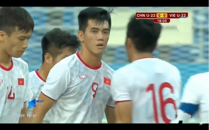 U22 Việt Nam có trận đấu xuất sắc trước chủ nhà Trung Quốc