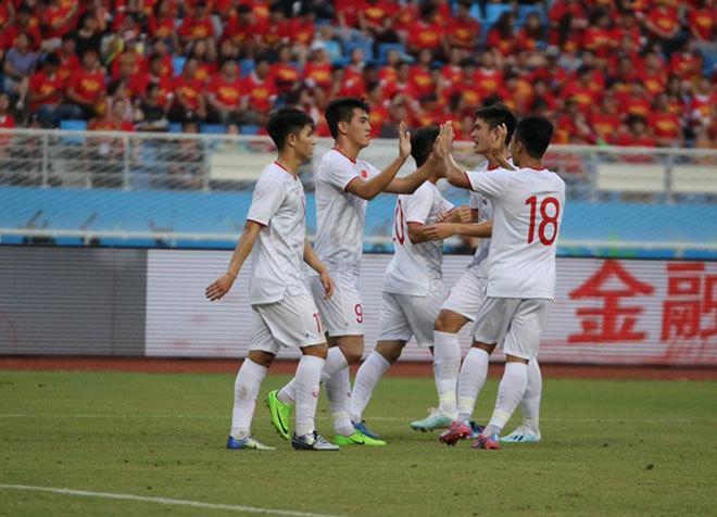 Kinh ngạc số trận bất bại của U22 Việt Nam sau chiến thắng U22 Trung Quốc