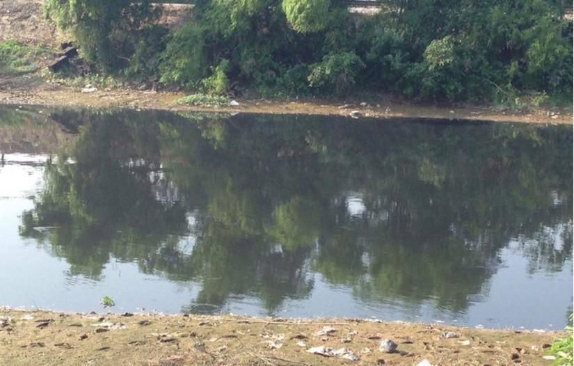 Sông Châu Giang nơi phát hiện thi thể người đàn ông. Ảnh minh họa.
