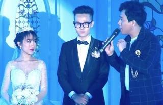 Trấn Thành nói điều gì khiến con gái đại gia Minh Nhựa bật khóc trong lễ cưới?