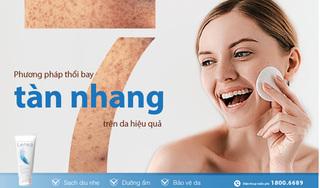 Tổng hợp các phương pháp thổi bay tàn nhang trên da hiệu quả