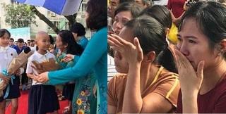 Rơi nước mắt buổi khai giảng đầu tiên và vui Trung thu của 'những đứa trẻ không tóc'