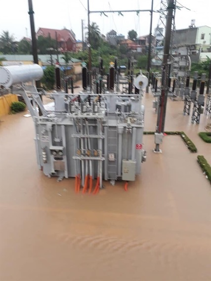 Hậu quả  sau trận mưa lụt tại Thái Nguyên 4
