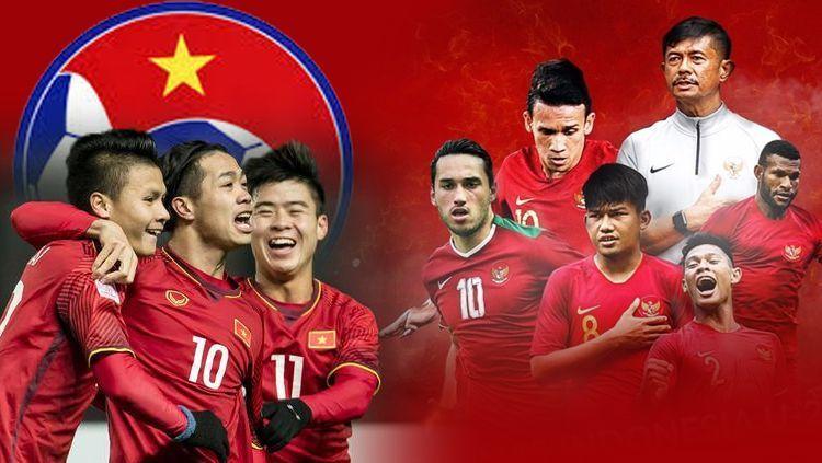 giá bản quyền truyền hình trận Indonesia - Việt Nam