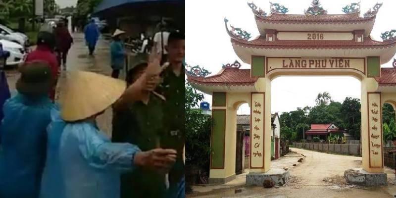 Đã xác định kẻ chỉ đạo nhóm đối tượng xăm trổ đập phá cổng làng ở Thanh Hóa
