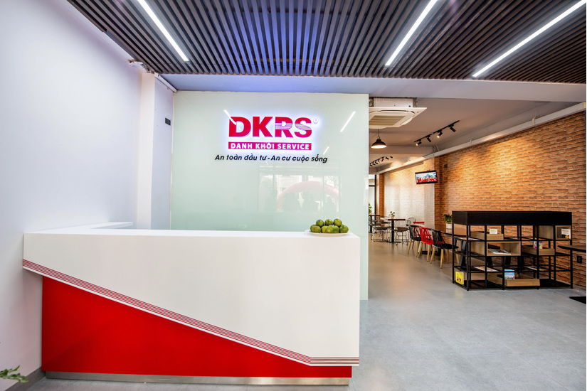 Văn phòng mới của DKRS tại Q.7 được thiết kế sang trọng, hiện đại