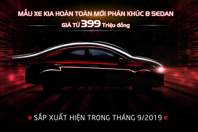 Kia Việt Nam nhận đặt hàng xe mới phân khúc B-Sedan giá từ 399 triệu3