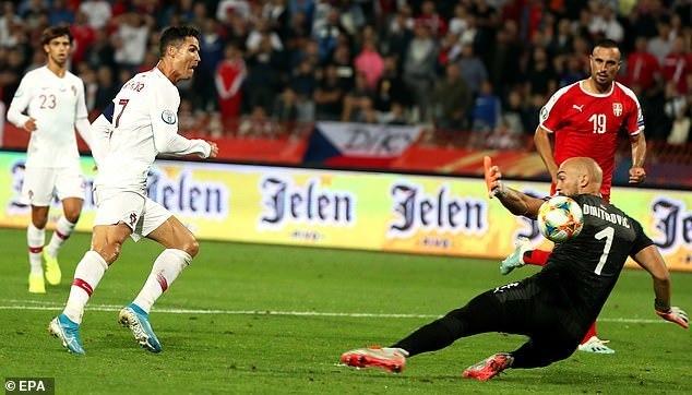 Tiền đạo giúp Ronaldo giúp Bồ Đào Nha có trận thắng thứ 2 liên tiếp