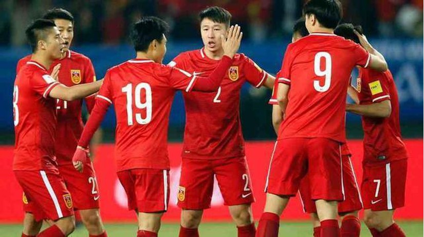 CĐV Trung Quốc không giấu nổi niềm vui khi đội nhà giành chiến thắng đậm trước Maldives