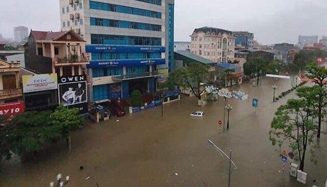 Hậu quả  sau trận mưa lụt tại Thái Nguyên 2