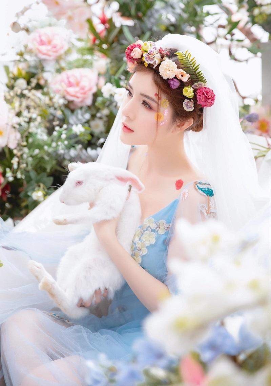 Lilly Luta hóa công chúa xinh đẹp, gây thương nhớ với góc nghiêng6