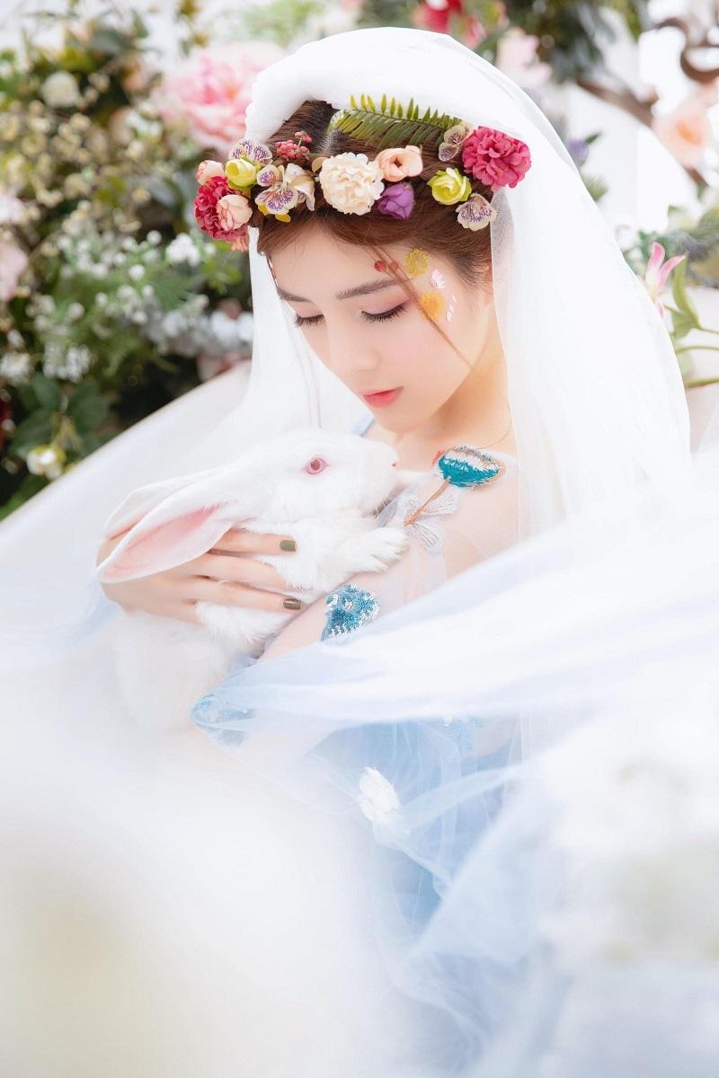 Lilly Luta hóa công chúa xinh đẹp, gây thương nhớ với góc nghiêng8