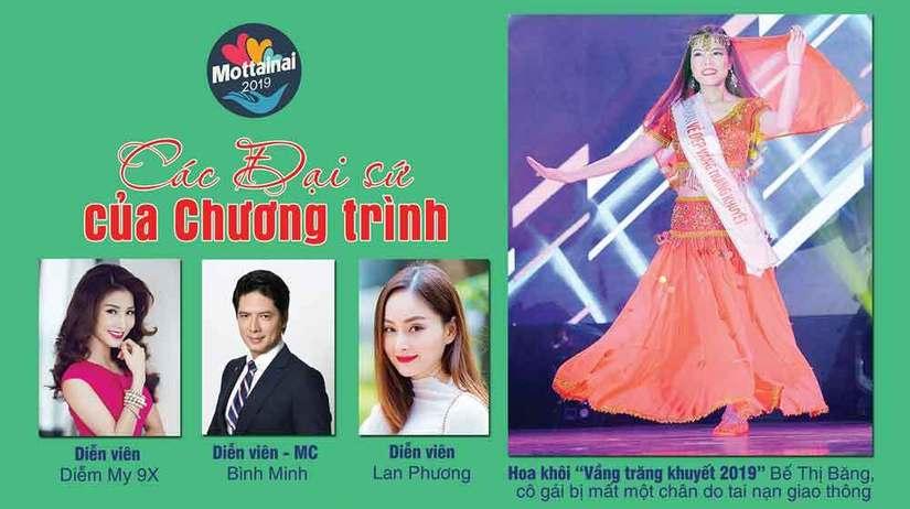 Diễm My 9X, Bình Minh, Lan Phương làm đại sứ ngày hội gây quỹ cho trẻ em mồ côi