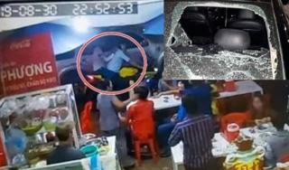 Tin mới nhất vụ xã đội trưởng đập xe của Bộ Công an tại quán ăn