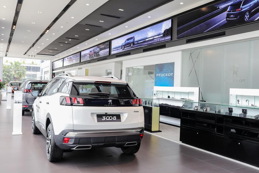 Hệ thống showroom Peugeot chuẩn 3S toàn cầu tại Việt Nam4