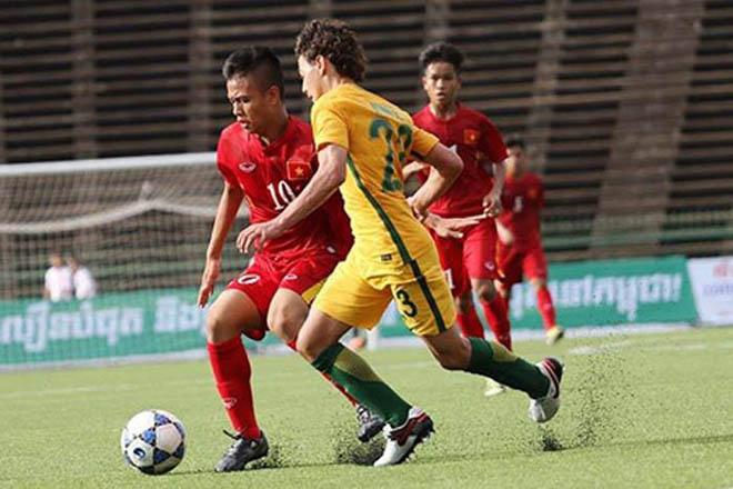U16 Việt Nam tự tin đối đầu U16 Úc ở giải châu Á
