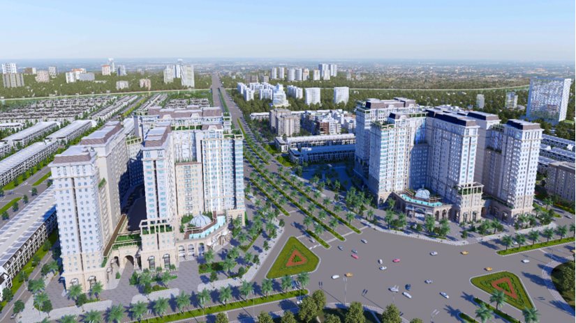 Khu đô thị La Villa Green City tại trung tâm TPTân An do Tran Anh Group phát triển