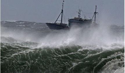 Vùng áp thấp mới xuất hiện trên Biển Đông, phía Nam mưa rất to