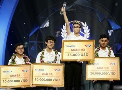 Thế Trung vô địch Đường lên đỉnh Olympia 2019 mang vinh quang cho Nghệ An