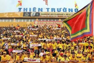 Nam Định huy động 400 cảnh sát trong trận tiếp CLB TP.HCM chiều 15/9