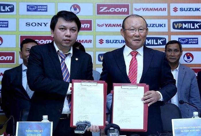 Báo Hàn tái khẳng định yêu cầu VFF dành cho HLV Park Hang-seo
