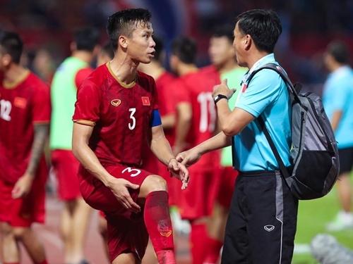 Liên đoàn bóng đá Việt Nam cho rằng Quế Ngọc Hải không gặp chấn thương nào