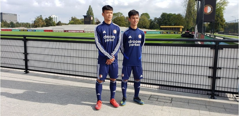 Hai cầu thủ U18 HAGL JMG được đội bóng của Hà Lan chiêu mộ