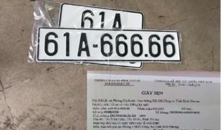 Chủ xe Mazda bốc ngẫu nhiên được biển số 'ngũ lục'