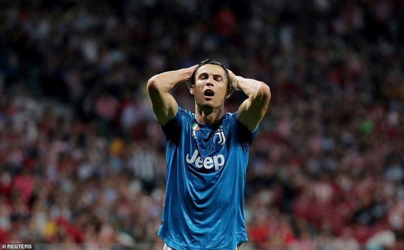 Juventus đánh rơi chiến thắng trước Atletico Madrid
