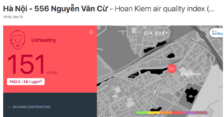 Không khí Hà Nội đang bị ô nhiễm nặng, người dân đối mặt với những hiểm nguy nào?