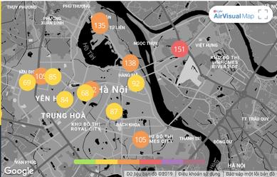 Ô nhiễm không khí những ngày này ở Hà Nội có thể tác động tới cả bào thai - Ảnh 1.