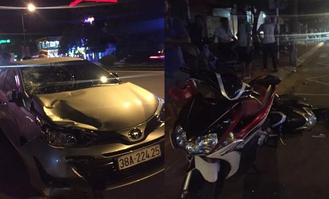 Chủ nhiệm Ủy ban Kiểm tra ở Hà Tĩnh gây tai nạn chết người khi 'có hơi men'